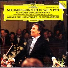 Claudio Abbado (Клаудио Аббадо): New Years Concert In Vienna 1991