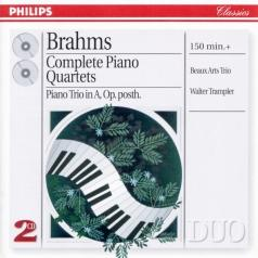 Beaux Arts Trio: Brahms: Complete Piano Quartets