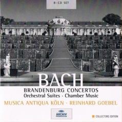 Musica Antiqua Koeln (Мьюзика Антик Кёльн): Bach: Brandenburg Concertos; Orchestral Suites; Ch