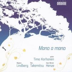 Timo Korhonen (Тимо Корхонен): Mano A Mano: Works For Guitar