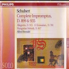 Alfred Brendel (Альфред Брендель): Schubert: Complete Impromptus, D899 & D935; 11 Eco