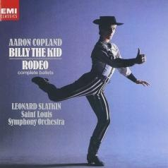 Lenard Slatkin (Леонард Слаткин): Copland: Billy The Kid & Rodeo