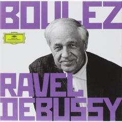 Pierre Boulez (Пьер Булез): Boulez Conducts Debussy & Ravel