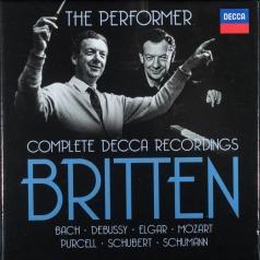 Benjamin Britten (Бенджамин Бриттен): The Performer: Complete Decca Recordings