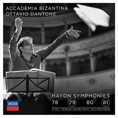 Ottavio Dantone (Оттавио Дантон): Haydn Symphonies 78-81