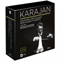 Herbert von Karajan (Герберт фон Караян): Orchestral Spectaculars From Handel To Bartok 1949-1960