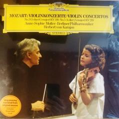 Anne-Sophie Mutter (Анне-Софи Муттер): Mozart: Violin Concertos 3 & 5