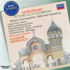 Vladimir Ashkenazy (Владимир Ашкенази): Mussorgsky: Pictures At An Exhibition