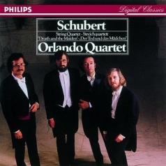 "Orlando Quartet (Орландо Квартет): Schubert: String Quartet ""Death And The Maiden"""