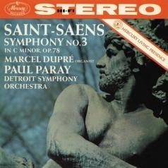 "Paul Paray (Пол Парай): Saint-Saens: Symphony No.3 ""Organ"""
