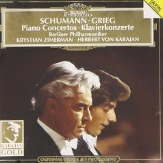 Krystian Zimerman (Кристиан Цимерман): Schumann / Grieg: Piano Concertos