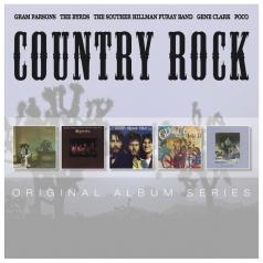 Original Album Series - Country Rock (Poco – Inamorata / Gram Parsons – Gp / Gene Clark - No Other / Byrds – Byrds / Souther Hillman Furay Band - Souther Hillman Furay Band)