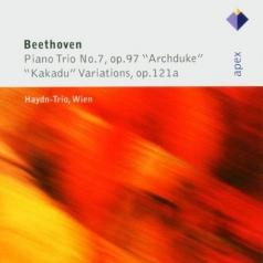 Haydn-Trio Wien (Хайдн-Трио Виен): Piano Trio No. 11, 'Kakadu Variations' & Piano Trio No.7, 'Archduke'