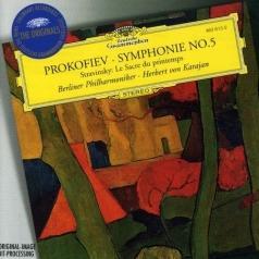 Herbert von Karajan (Герберт фон Караян): Prokofiev: Symphony No.5 / Stravinksy: Le Sacre du