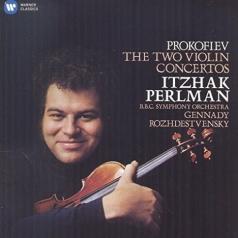 Itzhak Perlman (Ицхак Перлман): Violin Concertos Nos. 1 & 2 - Perlman, Bbc Symphony Orchestra/Rozhdestvensky