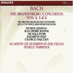 Bach, J.S.: Brandenburg Concertos Nos.4,5 & 6