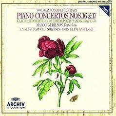 Mozart: Piano Concertos Nos.16 & 17