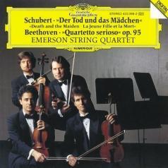 "Schubert: String Quartet ""Death And The Maiden""/ Beethoven: String Quartet ""Quartetto Serioso"""