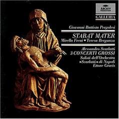 Pergolesi: Stabat Mater / Scarlatti: 3 Concerti gr