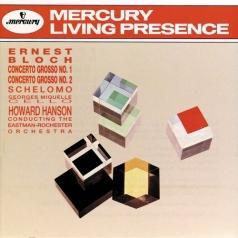 Bloch: Concerto Grosso No. 1 & No. 2/ Schelomo