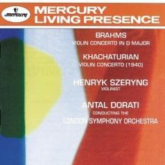 Brahms/ Khachaturian: Violin Concertos