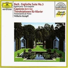 Bach: English Suite No.3; Capriccio BWV 922 / Tran