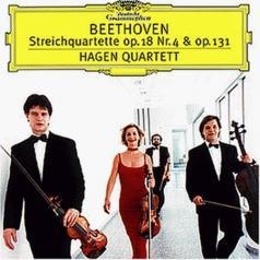 Beethoven: String Quartets No.4 op.18 & No.14 op.1