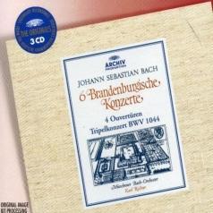 Bach: 6 Brandenburg Concertos; 4 Ouvertures; Tripe