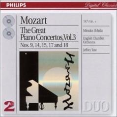 Mozart: Piano Concertos Vol.3