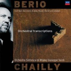 Berio: Orchestral Transcriptions Orchestra Sinfonic