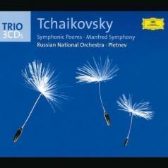 """Tchaikovsky: Symphonic Poems; """"Manfred"""" Symphony"""