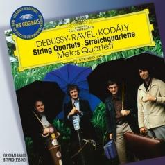 Debussy: String Quartet/ Ravel: String Quartet