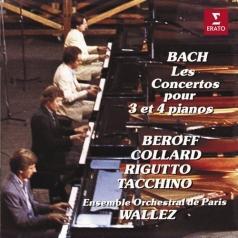 Konzerte Fuer 3 + 4 Klaviere