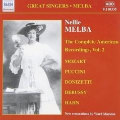 Melba, Nellie: American Recordings
