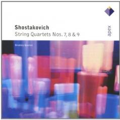 String Quartets Nos 7, 8 & 9