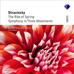 Stravinsky: Rite of Spring / Symphony in Three Movements
