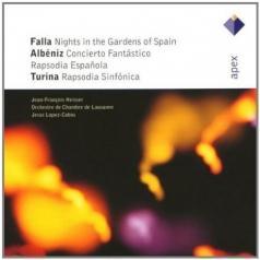 Falla, Albeniz & Turina : Works For Piano & Orchestra