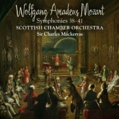 Mozart Symphonies Nos 38-41