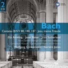 "Cantatas No. 80, 140, 147; Motet: ""Jesu, Meine Freude"", Bwv 227"