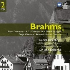 Piano Concertos Nos 1 & 2/Academic Festival & Tragic Overtures/Variations On A Theme Of Haydn