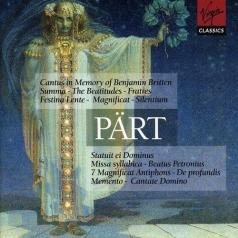 Silentium; Fratres; Magnificat; Summa; Missa Silabica