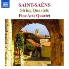 Saint-Saens: String Quartets 1+2