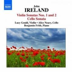 Violin Sonatas 1+2. Cello Sonata