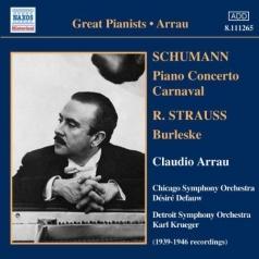 Arrau: Schumann / Strauss