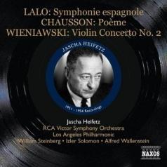 Heifetz: Lalo / Chausson / Wienawski