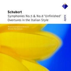 Symphonies Nos 5, 8, 'Unfinished' & Overtures