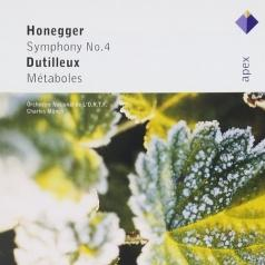 Honegger : Symphony No.4 & Dutilleux : Metaboles