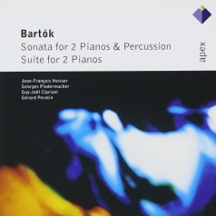 Sonata For 2 Pianos & Percussion & Suite For 2 Pianos