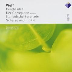 Penthesilea, Der Corregidor, Italienische Serenede, Suherzo & Finale