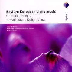 Gubaidulina, Ustvolskaya, Gorecki & Pelecis : Piano Concertos